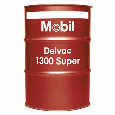 Mobil Delvac 1300 Super 15W-40 Motor Oil - 55 Gal. Drum