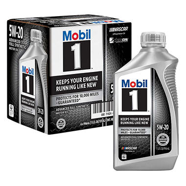 Mobil 1 5W-20 - Motor Oil - 6 Pk of 1 qt. bottles