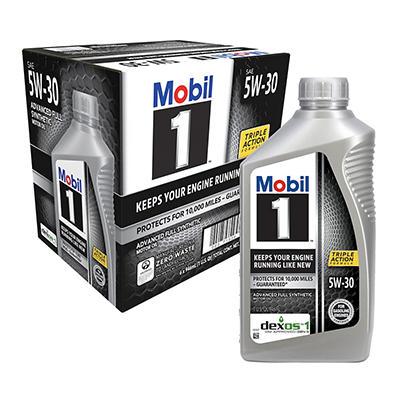 Mobil 1 5W-30 Motor Oil - 1 qt. bottles - 6 pk.