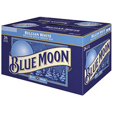 Blue Moon Belgian White Ale (12 oz. bottles, 24 pk.) - Puerto Rico