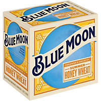 Blue Moon Summer Honey Wheat Ale, Seasonal  Ale (12 oz. bottles, 12 pk. )