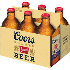 Coors Banquet Beer (12 fl. oz. bottle, 6 pk.)