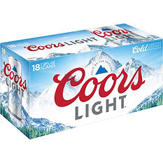 Coors Light Beer (12 fl. oz. can, 18 pk.)