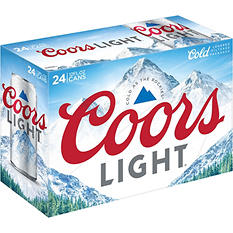 Coors Light Beer (12 fl. oz. cans, 24 pk.)