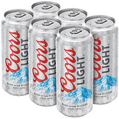 Coors Light Beer (16 oz. cans, 24 pk.)