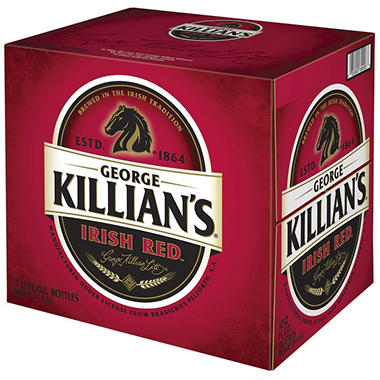 KILLIAN'S IRISH RED 12 / 12 OZ BOTTLES