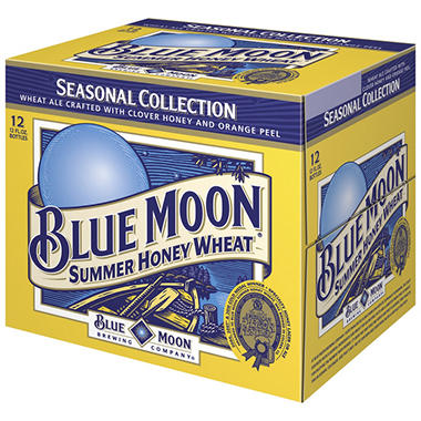 Blue Moon Seasonal  Ale (12 fl. oz., 12 pk.)