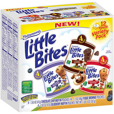 Entenmann's® Little Bites™ Variety Pack - 12 ct.
