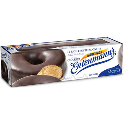 Entenmann's Frosted Donuts - 23.25 oz. - 12 ct.