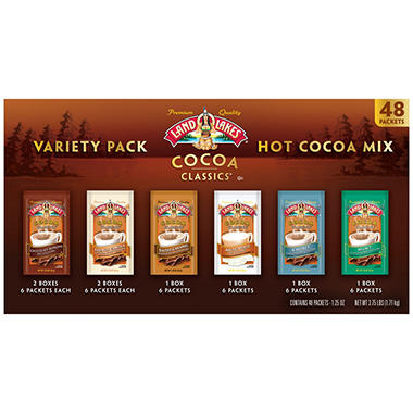 Land O'Lakes® Cocoa Classics® Premium Cocoa Mix Variety Pack - 1.25 oz. - 42 ct.