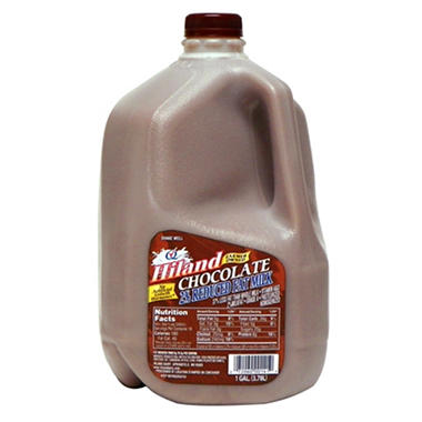 hiland 2 chocolate milk 1 gal sams club