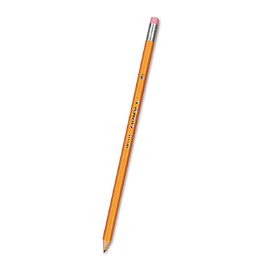 Dixon - Oriole Woodcase Presharpened Pencil, HB #2, Yellow Barrel - 12 Pencils