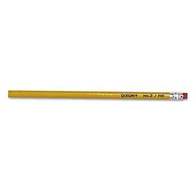 Dixon - Woodcase Pencil, HB #2 Lead, Yellow Barrel -  144/Box