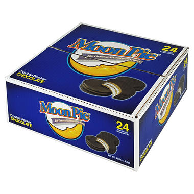 MoonPie® Chocolate Double Decker MoonPies - 24 ct.