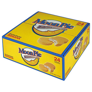 MoonPie� Banana Double Decker MoonPies - 24 ct.