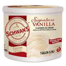 Schwan's Vanilla Ice Cream - 1 gal.