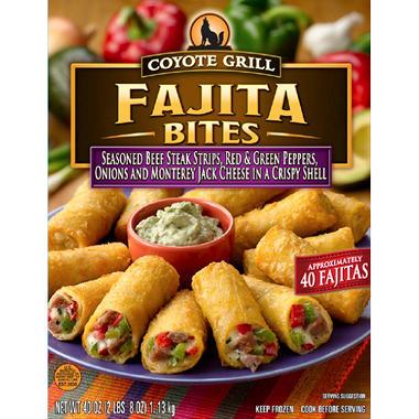 Coyote Grill Fajita Bites - 40 ct.