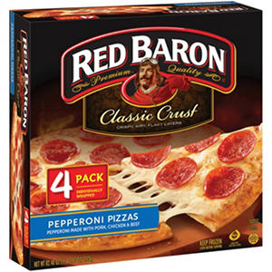 Red Baron Classic Pepperoni Pizza - 82.4 oz. - 4 pk.