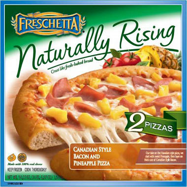 Freschetta Naturally Rising Hawaiian Pizza - 54.02 oz. - 2 pk.