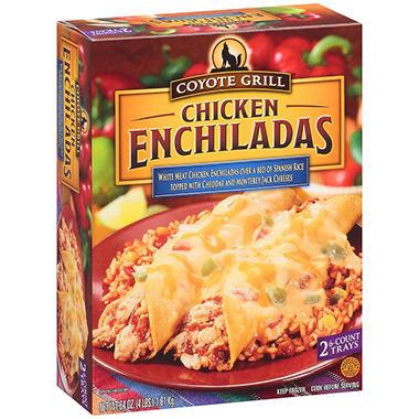 Coyote Grill™ Chicken Enchiladas 2/6 ct.