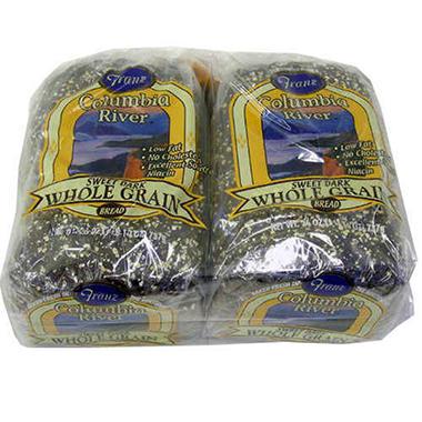 Franz Columbia River Sweet Dark Whole Grain Bread  (26 oz., 2 pk.)