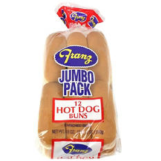 Franz Hot Dog Buns (12 ct.)