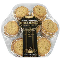 Aunt Katies Honey Almond Florentine Cookies - 42 ct.