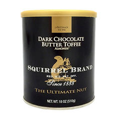 Dark Chocolate Butter Toffee Almond - 18 oz.