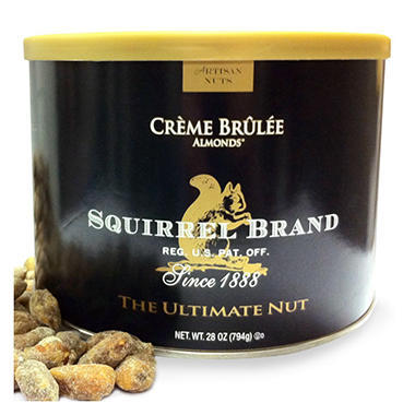Squirrel Brand� Cr�me Br�l�e Almonds� - 28 oz.