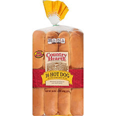 Country Hearth Hot Dog Buns (6 in. bun, 16 ct.)