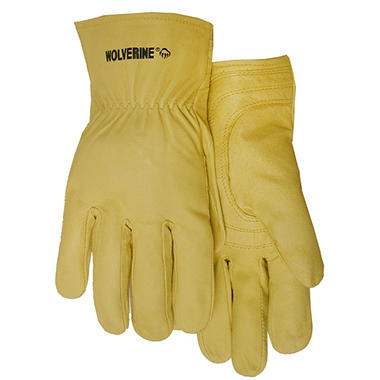 Wolverine Premium Top Grain Cowhide Glove - Large - 3 pk.