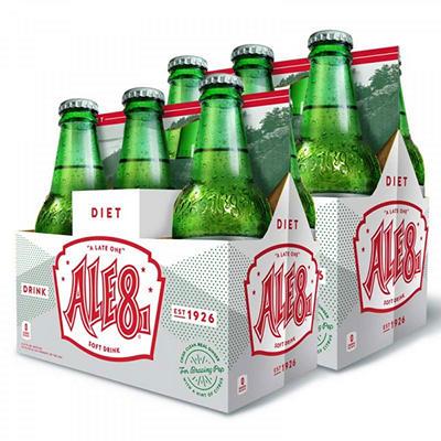 Diet Ale 8 One - 12oz/24 Bottles