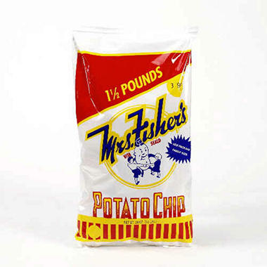 Mrs. Fisher's Potato Chips - 24 oz.