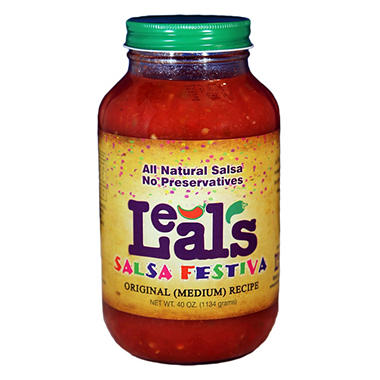 Leal's Original Salsa (Mild) - 40 oz.