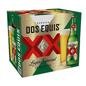 Dos Equis Lager Especial (12 fl. oz. bottle, 12 pk.)
