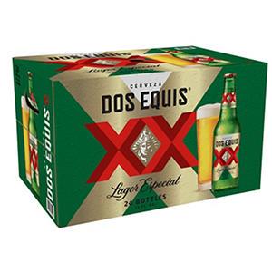 Dos Equis Lager Especial (12 oz. bottles, 24 pk.) - Puerto Rico