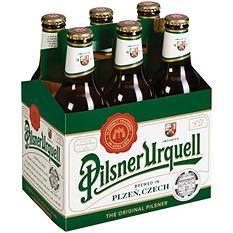 Pilsner Urquell Lager (12 oz. bottles, 6 pk.)