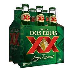 Dos Equis Lager Especial (12 oz. bottles, 6 pk.)