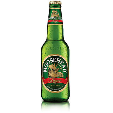 MOOSEHEAD BEER 12 / 12 OZ BOTTLES