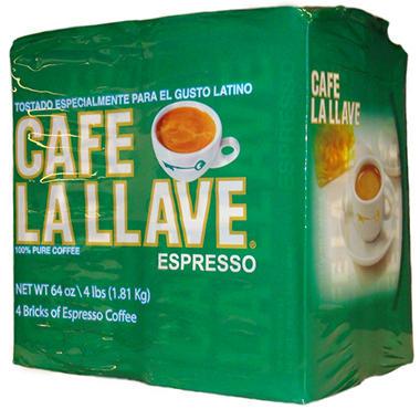 Café la llave Espresso 4 pk - 16 oz.