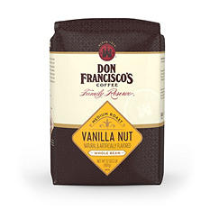 Don Francisco's Vanilla Nut Whole Bean Coffee - 2 lbs.