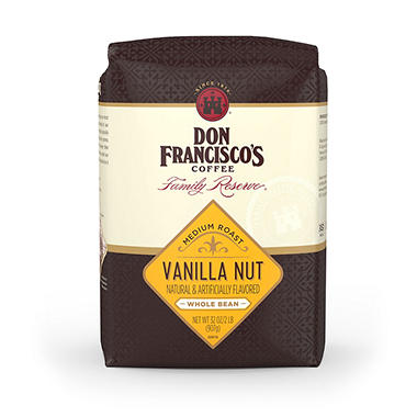 Don Francisco's Vanilla Nut Whole Bean Coffee - 2 lbs.