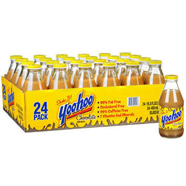 Yoo-Hoo� Chocolate Drink - 24/15.5oz bottles