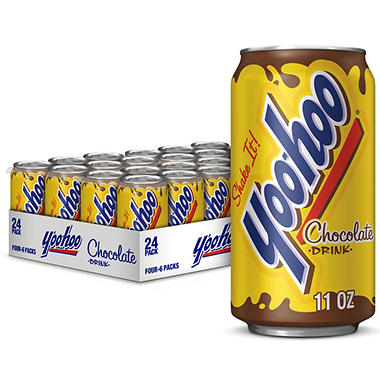 Yoo-hoo Chocolate - 11 oz. cans - 24 pk.