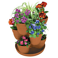 Bloomers 3-Tier Flower Tower Planter