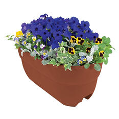 "Bloomers 24"" Railing Planter"