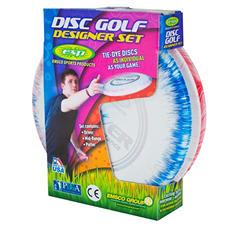 3 Piece Tie-Dye Pattern Disc Golf Set