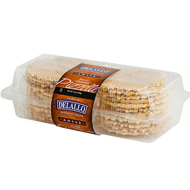 DeLallo Authentic Italian Anise Pizzelles - 12 oz.