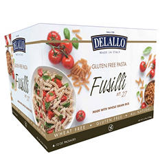 DeLallo Gluten Free Fusilli Pasta (12 oz. packs, 6 ct.)