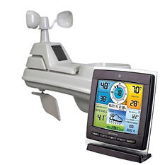 AcuRite Pro 5-in-1 Color Weather Station with Temperature, Humidity, Wind and Rain
